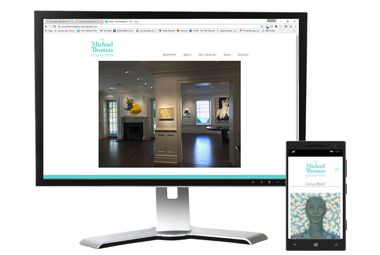 The Michael Thomas Collection Screenshot